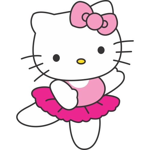 Hello Kitty DIY decals stickers version 7
